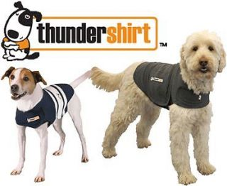 THUNDERSHIRT Behavior Modification Shirt for Dogs XXS Extra Extra Small Gray New