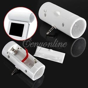 3 5mm Portable Mini Stereo Speaker Music Player for iPod iPhone  MP4 Laptop