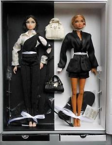 Fr Paint Black Erin Colette Gift Set Nu Face Model Behavior Le 850 NRFB RARE