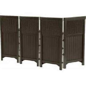 6 ft tall tropical outdoor privacy screen ss tropical for Tall outdoor privacy screen panels