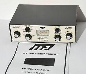 MFJ 949B Versa Tuner II Antenna Tuner 160M 10M 300W