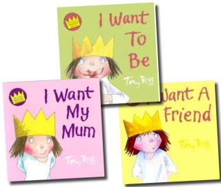 A Little Princess Story Collection Tony Ross 3 Books Set Children Picture Series