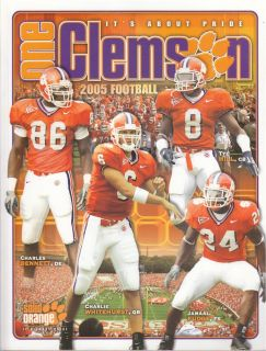Clemson University Tigers Official 2005 Information Media Guide
