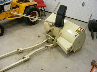 Cub Cadet Snow Blower Snowthrower Attachment RARE Excellent Condition 1720