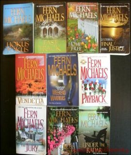 Fern Michaels Complete Sisterhood Series 20 Paperback Book Lot Home Free