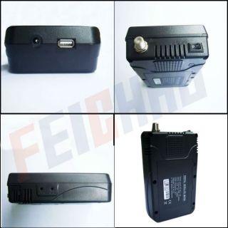"F02008 A Satlink WS 6908 3 5"" LCD DVB s FTA Handheld Digital Satellite TV Signal"