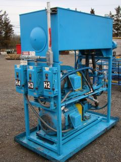 Delco GM Twin 25 HP Racine Hydraulic Pumps Heated Tank