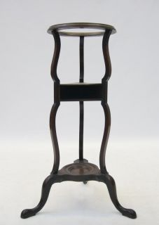 Antique George IV Plant Stand Wash Stand Table Georgian Mahogany Early 19th