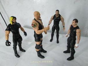 WWE Custom The Shield Big Show Action Figure Mattel Elite RARE Raw Smack Down