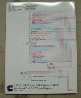 Cummins QSB5 9 QSC8 3 QSL9 Marine ECM Wiring Diagram