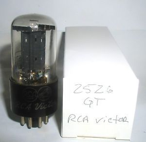 1 Vintage RCA Victor 25Z6GT Vacuum Tube Tested Strong Audio Radio Amp