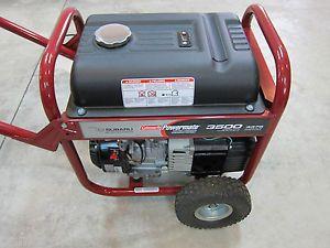 Coleman Powermate Portable 3500 Watt 4375SURGE Generator Model PM0433500