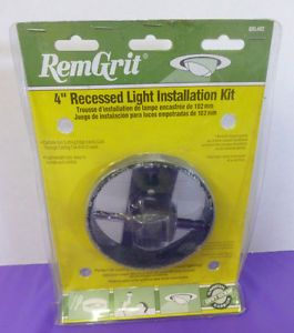"Remgrit GRL402 4"" Recessed Light Installation Kit Hole Saw Ceiling Tile Drywall"