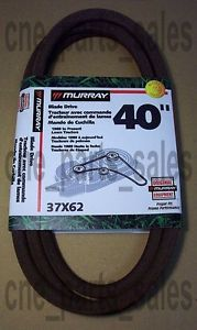 "Murray 40"" Riding Mower Deck Blade Drive Belt 37x62"
