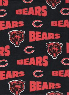 Custom Made 4U Medical Nurse Vet Scrub Top NFL Chicago Bears