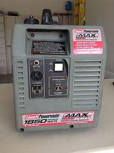 Coleman Powermate Portable Generator Max Series