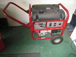 Coleman Powermate 5000 6250 Watt Portable Generator Never Used Tampa Pickup Only