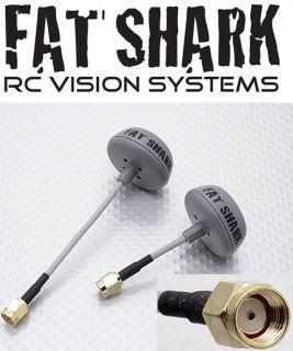 Fat Shark Immersionrc RP SMA 5 8GHz Circular Polarized Spironet Antennas FPV