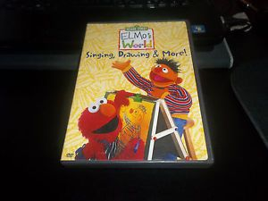 Elmo S World Singing Drawing More Sesame Street Guc