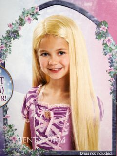 Disney Tangled Rapunzel 2 Foot Long Hair Wig Costume