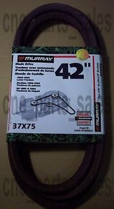 "37x75 Murray Riding Mower Deck Blade Drive ""V"" Belt 37x75"