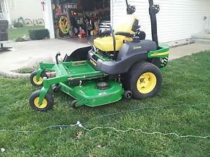180470592_john deere 757 zero turn riding mower 60quot deck only john deere mower wiring diagram on popscreen  at gsmx.co