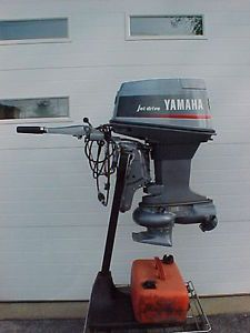 Yamaha Outboard Motor 50 HP Jet Drive 1992 Very Good Condition Used 50 35