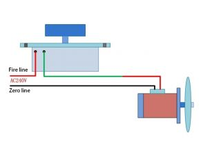 220V AC Motor Speed Control