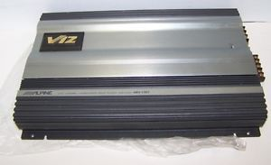 Alpine V12 Car Power Amplifier 4 3 2 5 Channel Subwoofer Drive MRV F357 Broken