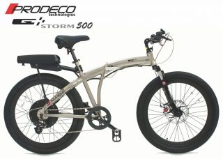 Prodeco Technologies 2012 Storm 36V 500W LiFePO4 Electric Bicycle Bike EBike