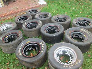 12 Asphalt Racing Rims Bassett Wide 5 Rims 10 inch Late Model Port City