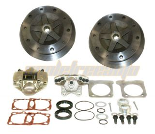 Wide Rear Disc Brake Kit Dune Buggy VW Baja Bug
