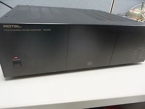 Rotel HiFi RB 985 THX 5 Channel Power Amplifier Mint Condition Works Perfect