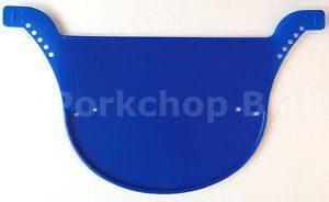 Neal Enterprises Proto Plate Old School BMX Number Plate from OG Mold Blue