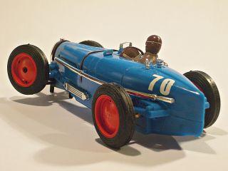 "Very RARE Pink Kar Bugatti Type 59 ""Blue"" 1 32 Slot Car Scalextric Compatible"