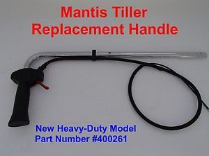 Mantis Tiller Throttle Handle Part Number 400261 on PopScreen