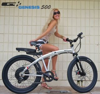 Prodeco Technologies 2012 Genesis 36V 500W LiFePO4 Electric Bicycle Bike EBike