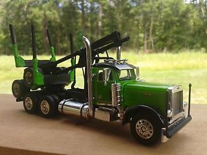 Details about Custom 1/64 Peterbilt Log Truck