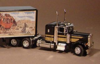 Custom Smokey and The Bandit DCP Semi Truck 1 64