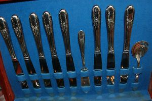 1847 Rogers Bros Silver Plate Extra Plate Silverware Flatware