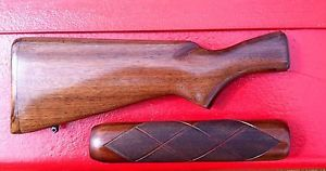Vintage Remington Model 870 Stock and Forearm for A 12 Gauge