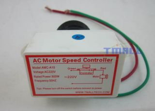 800W AC 220V Electronic Motor Speed Control Controller Switch Regulation New