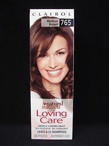 Clairol Natural Instincts Loving Care Hair Color Medium Brown 765