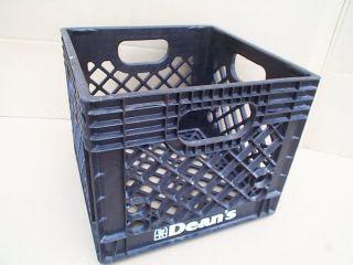 Dean's Foods Plastic Dairy Milk Crate Carrier