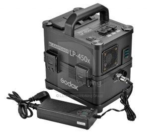 godox lp 450x portable power pack inverter for flash. Black Bedroom Furniture Sets. Home Design Ideas