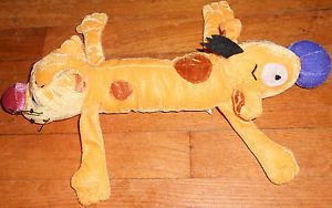 "RARE 90s Nickelodeon 15"" Long Catdog Cat Dog Cartoon Plush Toy"