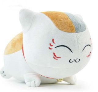 Plush Natsume Yuujinchou Madara Cat Teacher Nyanko Sensei White Toy Two Styles