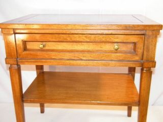 Antique Vintage White Furniture Company Mid Century 1950's Bedroom Nightstand