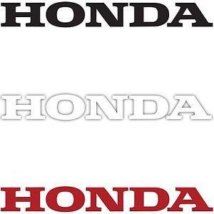 2X Honda Logo Decal Sticker Car Truck Motorcycle Auto Racing Die Cut Vinyl