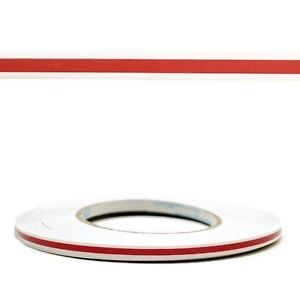 Custom 1 4 inch Red Boat Pinstripe Tape Stripe